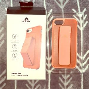 🦩Adidas iPhone 6/7/8 case with grip band🦩